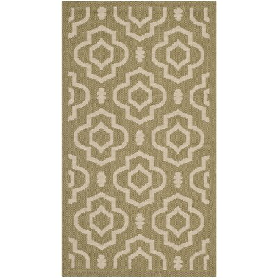 Safavieh Courtyard Green/Beige Rug