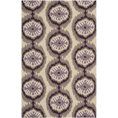 Safavieh Four Seasons Beige/Purple Rug