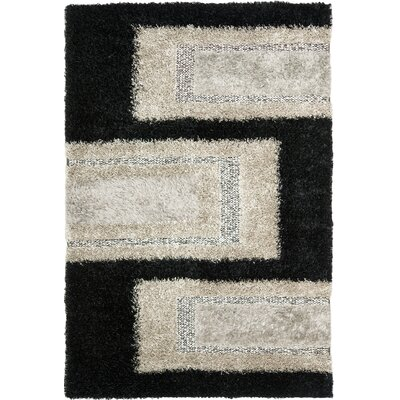 Safavieh Manhattan Black / Grey Rug
