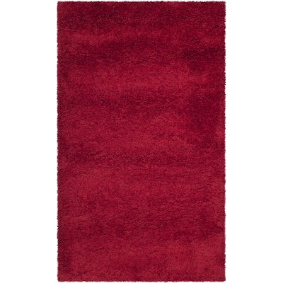 Safavieh Milan Shag Red Rug