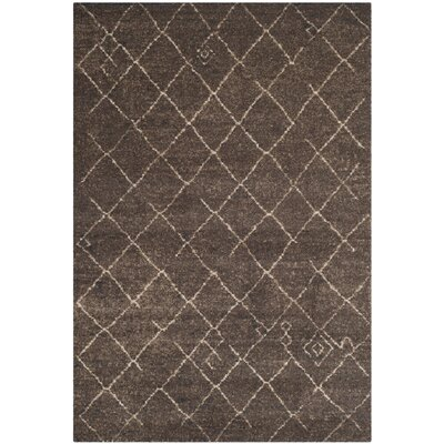 Safavieh Tunisia Dark Brown Rug