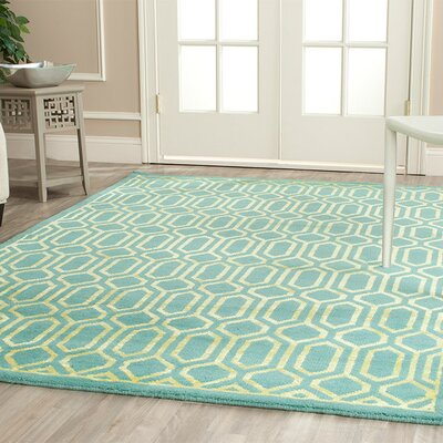 Safavieh Mosaic Aqua / Light Gold Rug