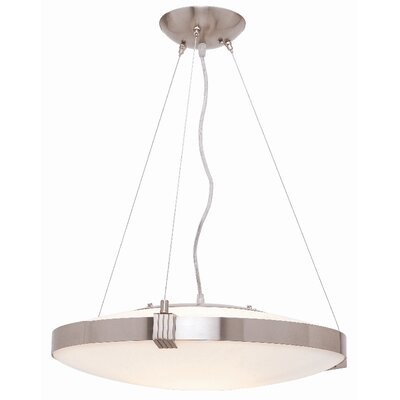 Access Lighting Luna 1 Light Drum Pendant