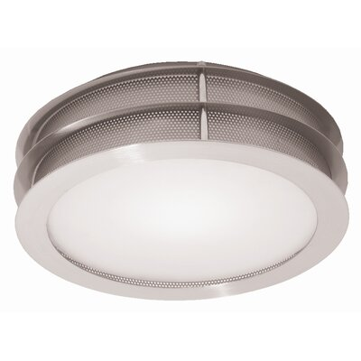 Access Lighting Iron 1 Light Flush Mount