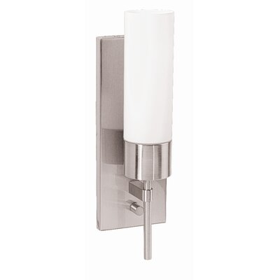 Access Lighting Aqueous 1 Light Wall Sconce with Opal Glass