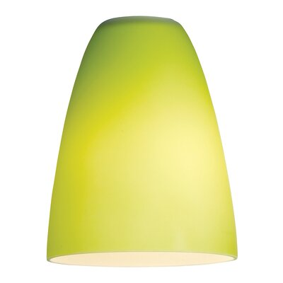 Inari Silk Lime Green Glass Shade