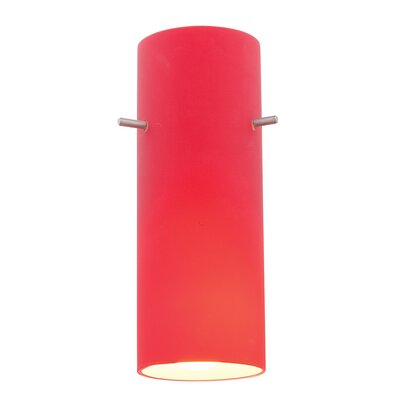 Inari Silk Amber Cylinder Glass Shade