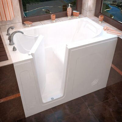 "Therapeutic Tubs Buena Vista 54"" x 30"" Soaking Walk-In Bathtub"