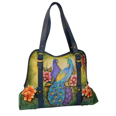 Anuschka Wide Entry Tote Bag