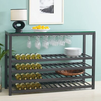 TFG Trio 64 Bottle Wine Rack Floor