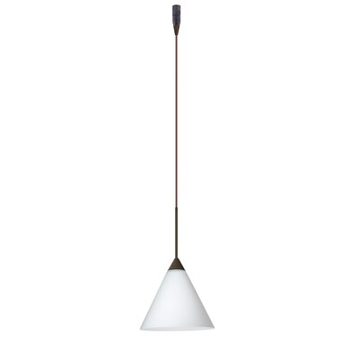Besa Lighting Kani 1 Light Mini Pendant Element with Rail Adapter