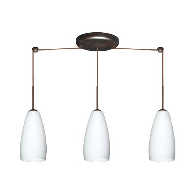 Besa Lighting Chrissy 3 Light Mini Pendant