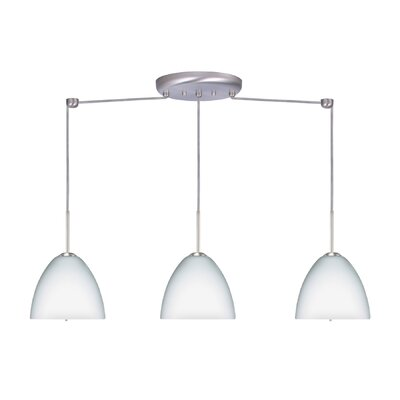 Besa Lighting Sasha II 3 Light Linear Pendant