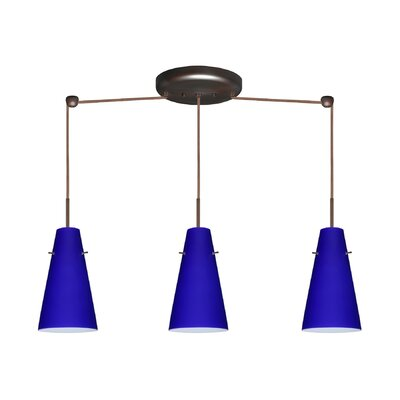 Besa Lighting Cierro 3 Light Linear Pendant