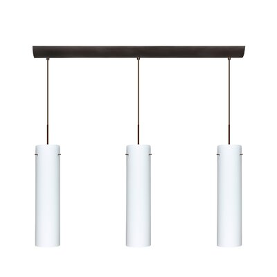 Besa Lighting Stilo 3 Light Mini Pendant