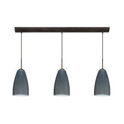 Riva 3 Light Pendant
