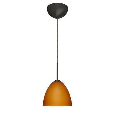 Besa Lighting Sasha II 1 Light Mini Pendant