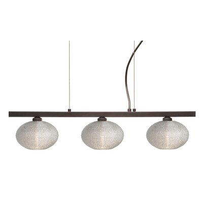 Lasso 3 Light Kitchen Island Pendant