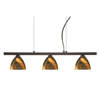 Divi 3 Light Kitchen Island Pendant