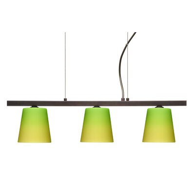 Canto 3 Light Kitchen Island Pendant