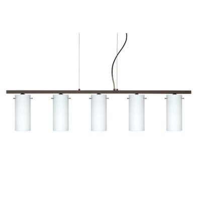 Besa Lighting Copa 5 Light Kitchen Island Pendant
