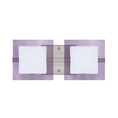Besa Lighting Alex 2 Light Vanity Light
