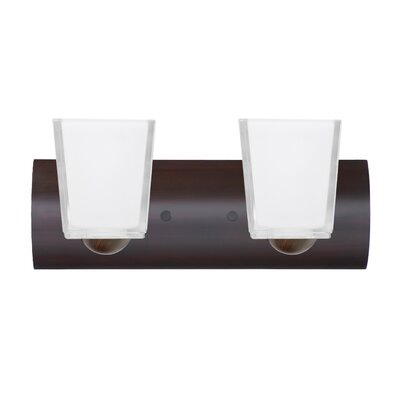 Besa Lighting Bria 2 Light Bath Vanity Light