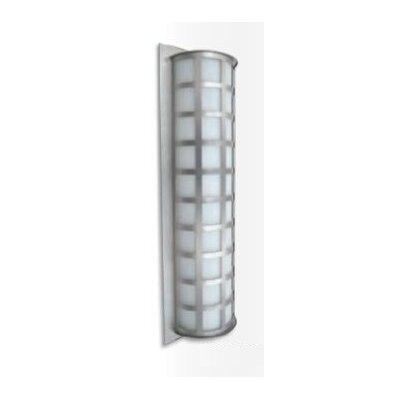 "Besa Lighting Scala 28"" High Brushed Aluminum Wall Light"