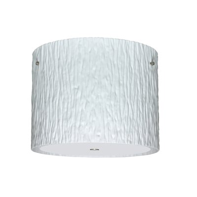 Besa Lighting Tamburo 3 Light Flush Mount