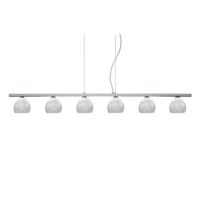 Besa Lighting Tay Tay 6 Light Pendant