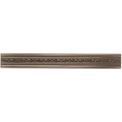 Mohawk Flooring Artistic Accent Statements Metal 1-1/2 Laurel Accent Strip in Vintage Bronze