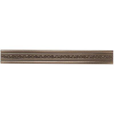 Mohawk Flooring Artistic Accent Statements Metal 1-1/2 Laurel Accent Strip in Vintage Bronze