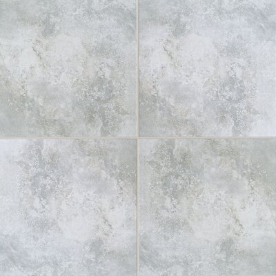 "Mohawk Flooring Casa Loma 20"" x 20"" Floor Tile in Grey Wool"