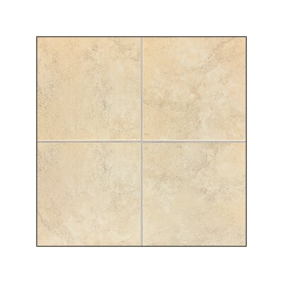 "Mohawk Flooring Caridosa 13"" x 13"" Floor Tile in Beige"
