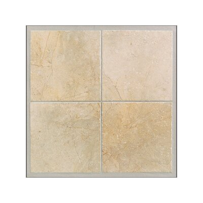 Egyptian Stone Floor Tile in Ramses White