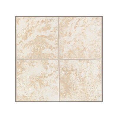 Pavin Stone Wall Tile in White Linen
