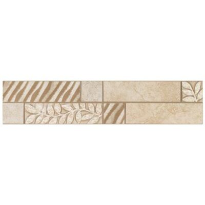 "Mohawk Flooring Natural Caridosa 13"" x 3"" Universal Decorative Border"