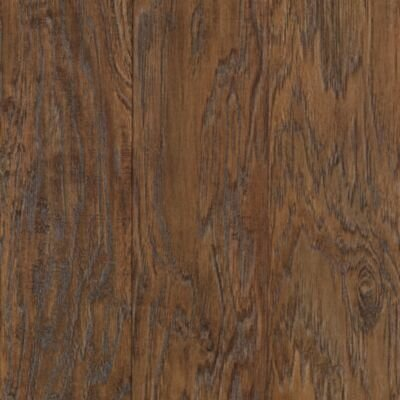 Mohawk Flooring Barrington 8mm Hickory Laminate in Rustic Suede