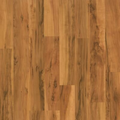 Mohawk Flooring Carrolton Plus 8mm Caramel Spalted Maple Strip Laminate with Attached Pad