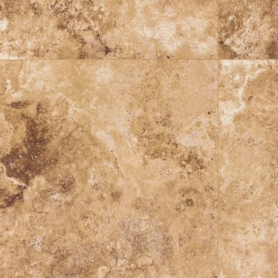 Mohawk Flooring Earthwork Palazzo 8mm Cross Cut Travertine Laminate in Tuscan Gold
