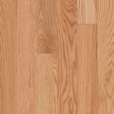"Mohawk Flooring Lineage Woodbourne 2 1/4"" Solid Red Oak Flooring in Natural"