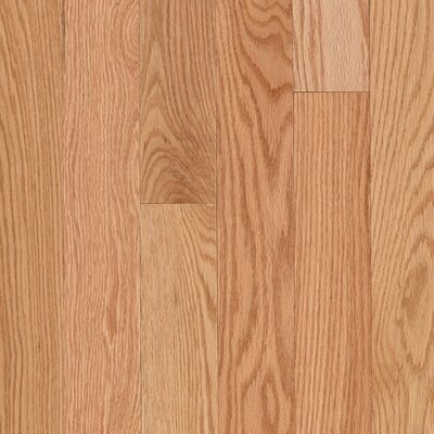 "Mohawk Flooring Lineage Woodbourne 3 1/4"" Solid Red Oak Flooring in Natural"