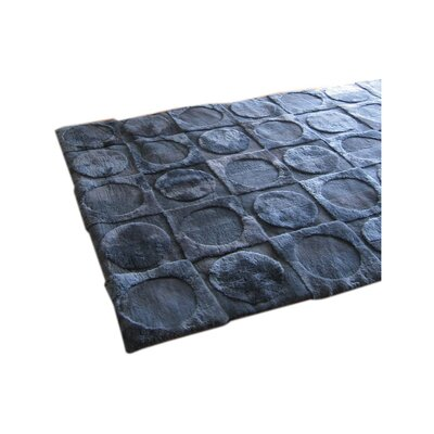 Bowron Sheepskin Rugs Shortwool Lunar Ink Design Rug