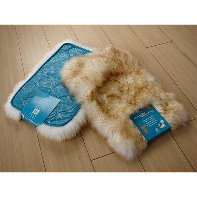 Bowron Sheepskin Pet Eclipse Contemporary Rectangular Rug