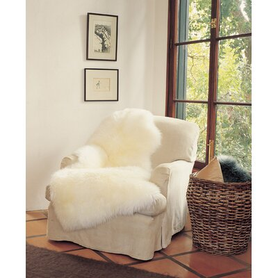 Bowron Sheepskin Rugs Ivory Gold Star Longwool Rug