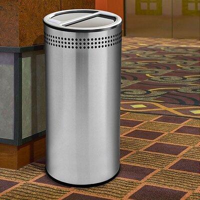 Commercial Zone Precision Series 20 Gallon Multi Compartment Recycling Bin
