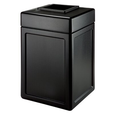 Commercial Zone 38 Gallon Square Waste Container