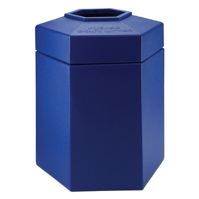 Commercial Zone 45 Gallon Hex Waste Container