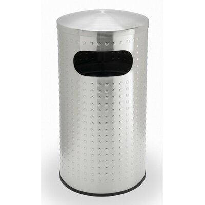 Commercial Zone Precision Series Trash Can with Protrusion Dome Lid
