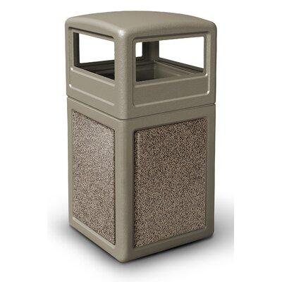 Commercial Zone 38 Gallon StoneTec Panel with Dome Lid
